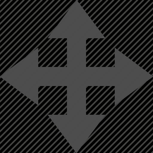 move, position, transform, translate icon