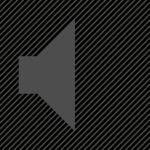 audio, mute, silent, volume icon
