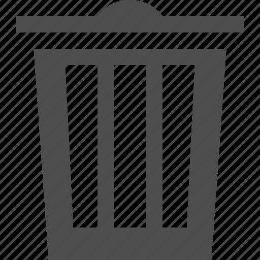 bin, delete, remove, trash icon