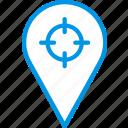 map, navigation, location, pin icon