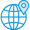 location, map, navigation, pin, web icon