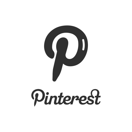 label, logo, pinterest, pinterest logo icon