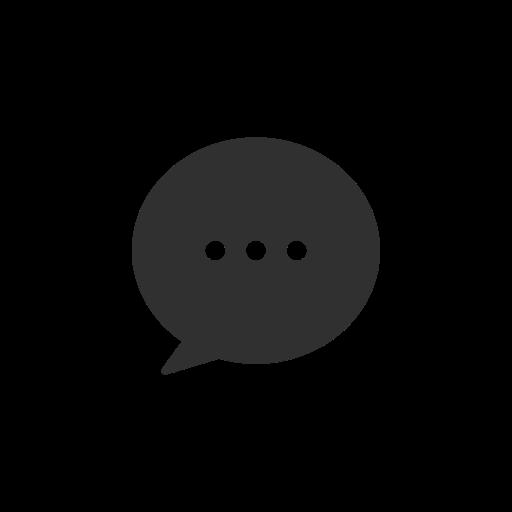 chat box, inbox, message, pinterest icon