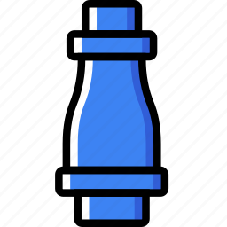 flow, pipe, water icon