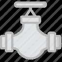 flow, valve, water