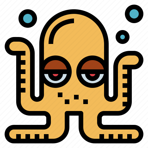 animals, life, octopus, sea, summer icon