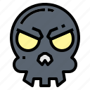 dead, murder, pirate, skull icon