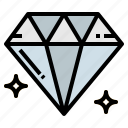 diamond, fashion, jewelry, quality icon