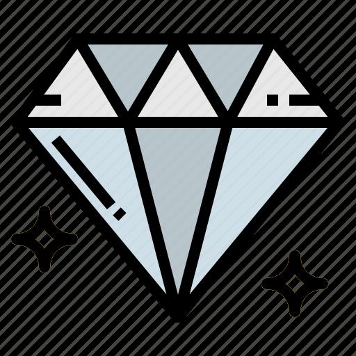 diamond, fashion, jewelry, quality icon