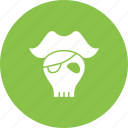 bone, danger, flag, pirate, sign, skull icon