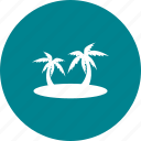 bay, island, palm, pirate, sea, tree, tropical icon