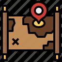 treasure, map, maps, location, flags, pirate, orientation