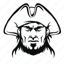 criminal, danger, weapon, treasure, captain, corsar, pirate icon