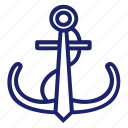 anchor, boat, pirate, sea, set, ship