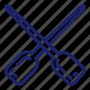 boat, boatpaddles, paddles, pirate, set, ship icon