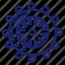 nautica, pirate, sea, set, ship icon
