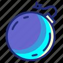 canonball, set, bomb, pirate