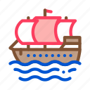 boat, nautical, pirate, sea, ship