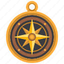 cardinal, compass, direction, location, orientation, points icon