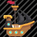 boat, pirate, pirates, ship, ships, transportation