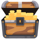 box, chest, furniture, gold, money, pirate, treasure