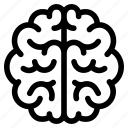 analytical, brain, genius, intelligent, mind, smart, thought icon