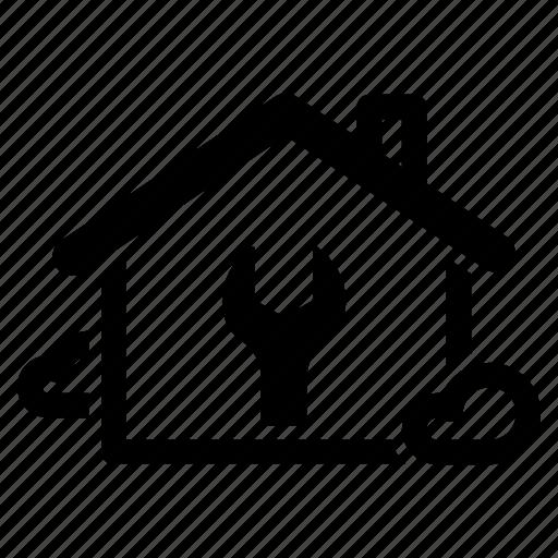 bricolage, fix, home, house, maintenance, plumbing, repair icon