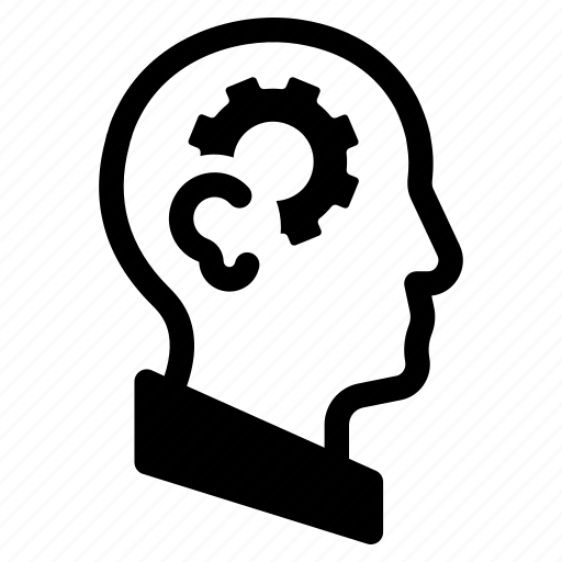 analysing, brain, mind, process, processing, thinking, thought icon