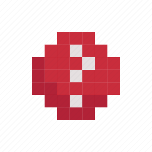 Game, Mark, Pixelart, Play, Question, Sign Icon