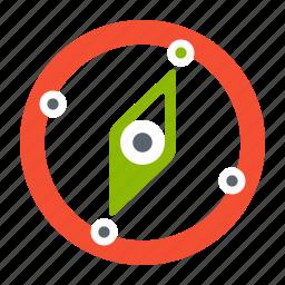 1, compass, direction, gps, indicator, map, navigation, navigator icon