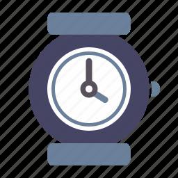 alarm, clock, date, timepiece, timer, watch, wrist icon
