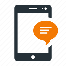 cellphone, device, message, mobile, phone, popup icon