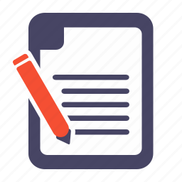 book, edit, note, notebook, notepad icon
