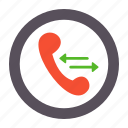 call, calls, incoming, outgoing, phone icon