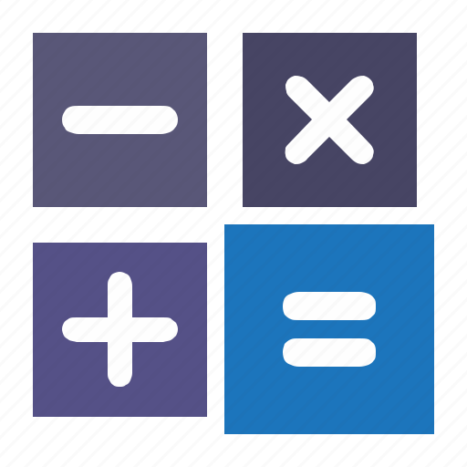 calc, calculator, equal, minus, plus icon