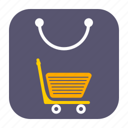 bag, grocery, mall, shop, shopping icon