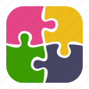 business, part, plugin, puzzle, solution, strategy icon