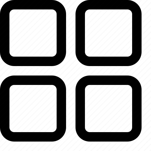 block, grade icon