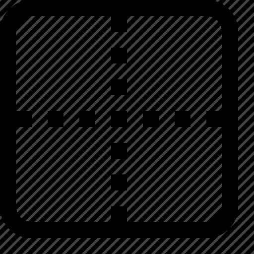 cartesian, center, coordinate, linear algebra, origin, plane, position icon