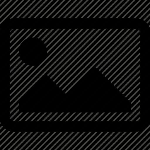 album, bitmap, gallery, image, landscape, photo icon
