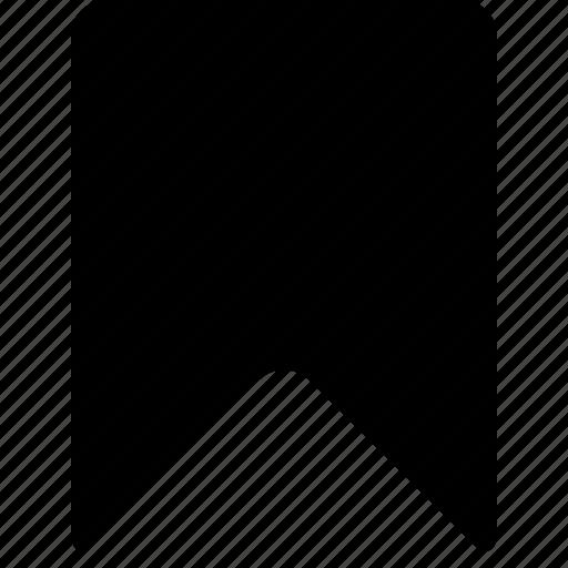 bookmark, mark, marker, ribbon icon
