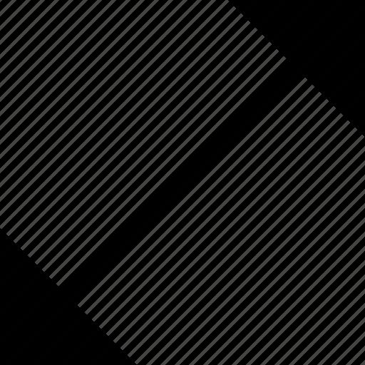 arrow, direction, line icon