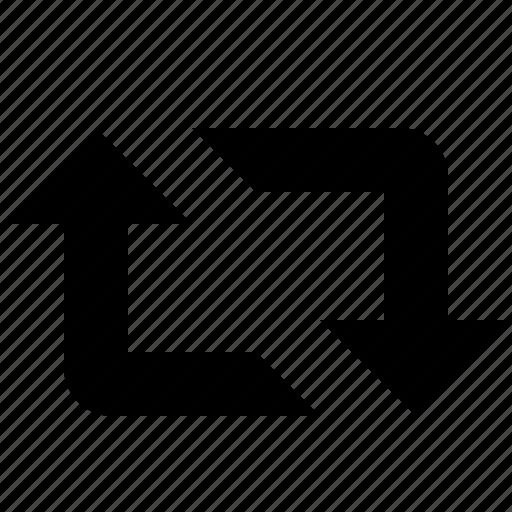 foward, loop, retweet icon