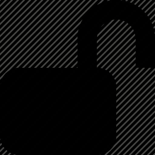 free, lock, open, opened, unlock, unlocked icon