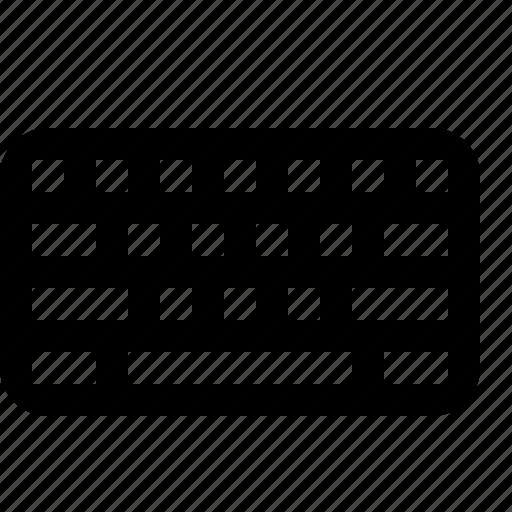 keyboard, keys, type, typing icon