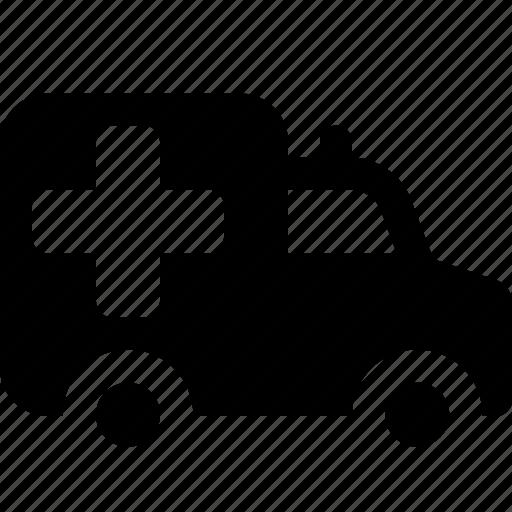 ambulance, car, emergency, vehicle icon