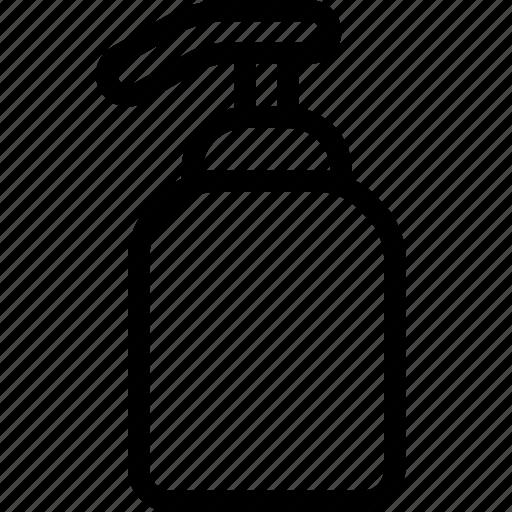 bathroom, cleaning, dispenser, hygiene, pump, soap, wash icon