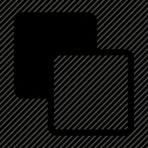 Front minus back, merge, path, pathfinder icon - Download on Iconfinder