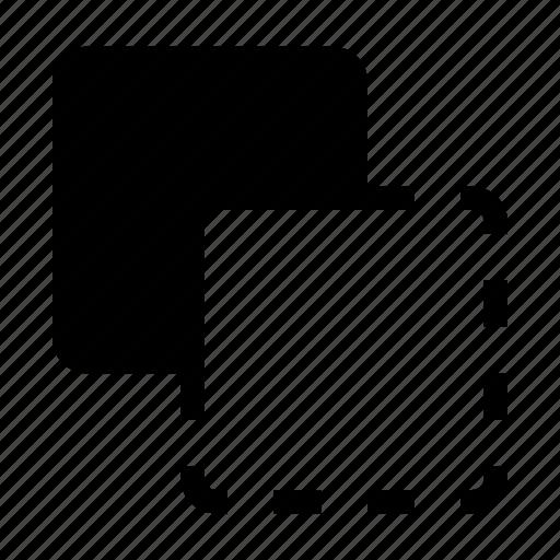front minus back, merge, path, pathfinder icon