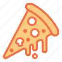 cheese, food, hot, melting, pizza icon